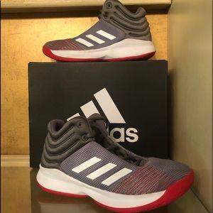 EUC Adidas Spark Size Youth 5 W Basketball Shoes